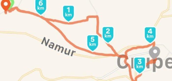 Kiwanis wandeling Crupet